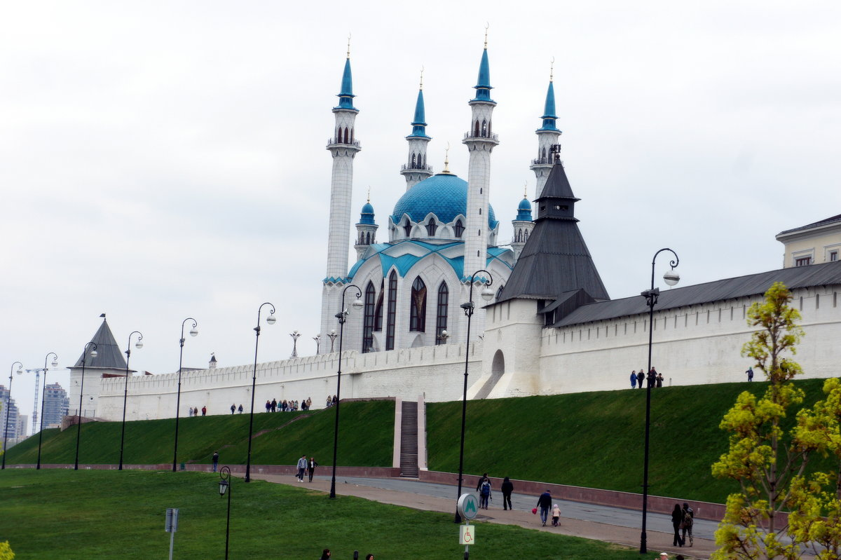 Кремль. Мечеть Кул-Шариф - Елена Павлова (Смолова)