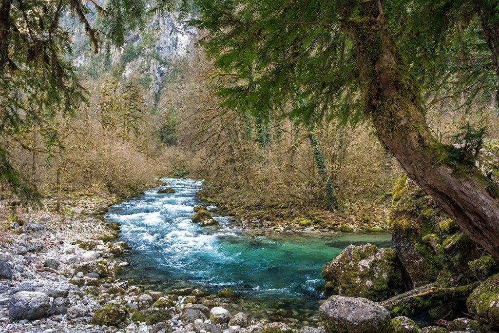 Горная река - Ольга
