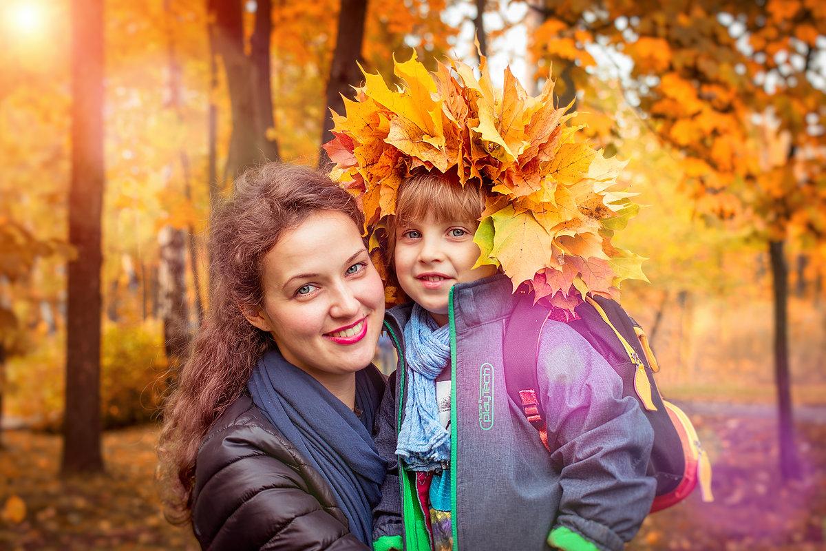 Осенняя улыбка - Валерий Бочкарев