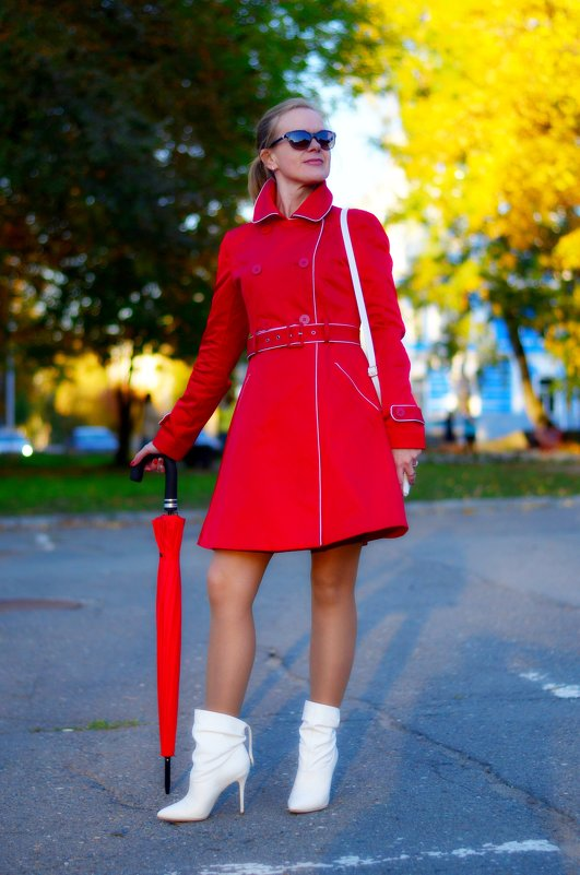 Дама в красном - Дмитрий Боргер