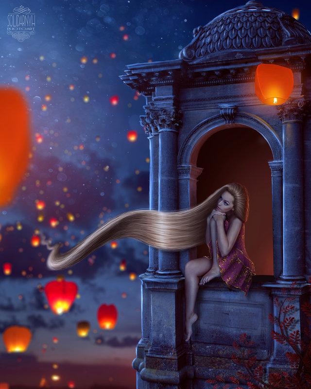 Rapunzel - Виктория Солидарных