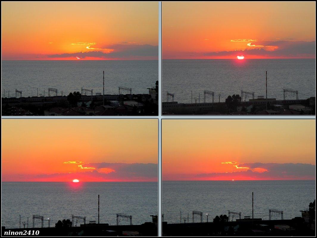Адлер, море, закат... - Нина Бутко