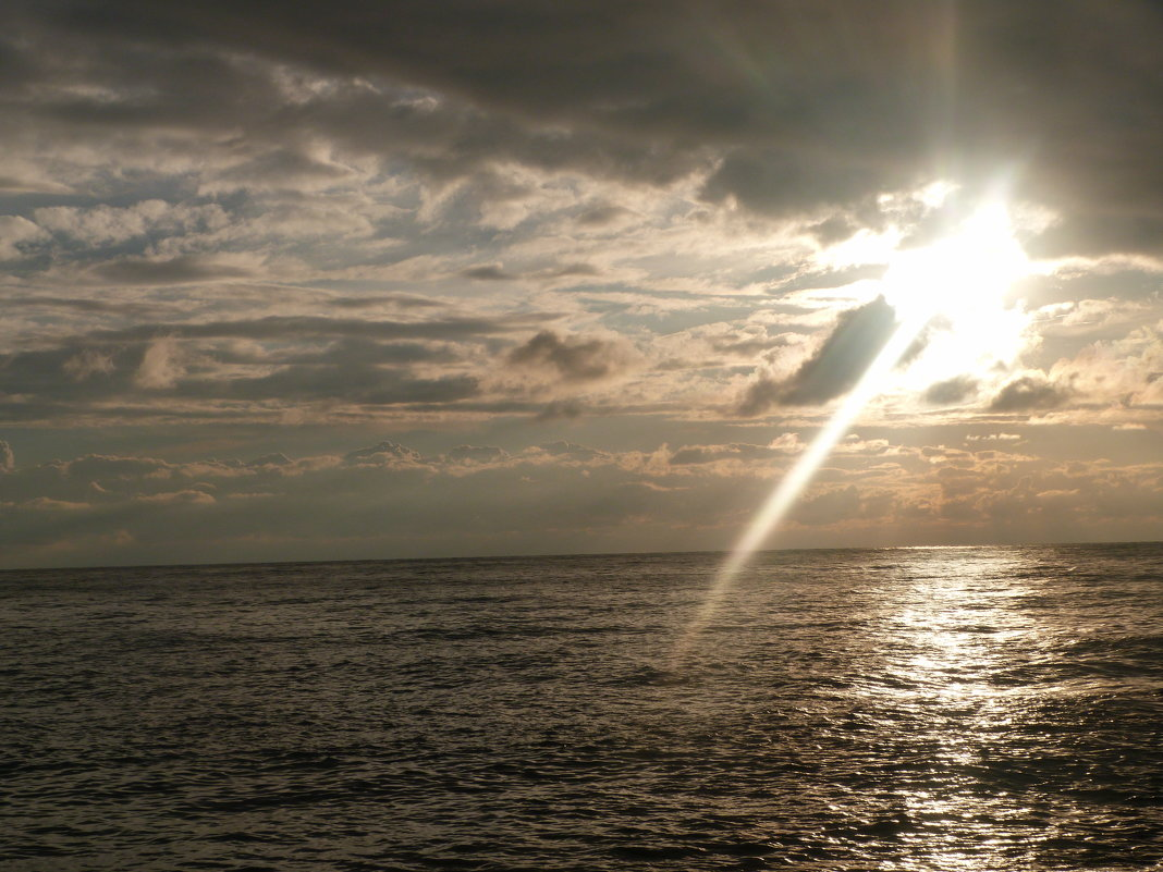Черное море в закате - Oleg