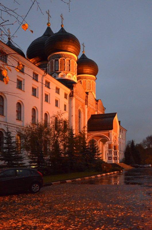 Храм Покрова Пресвятой Богородицы в Измайлово. - Oleg4618 Шутченко