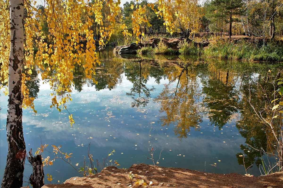 """""""Леди Осень красой отразилась в воде… """" - Надежда"""
