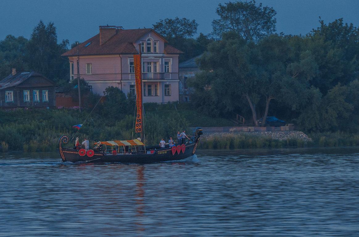 Вечерняя прогулка - Сергей Цветков