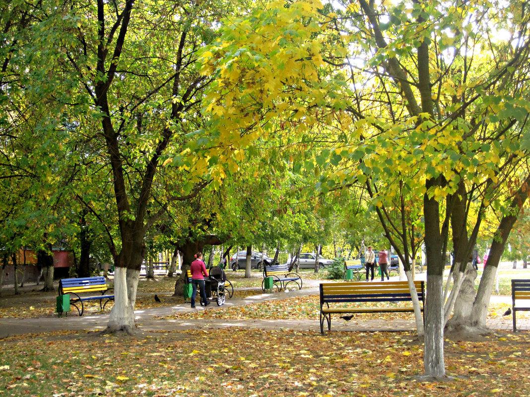 Осень в городе - Елена Семигина