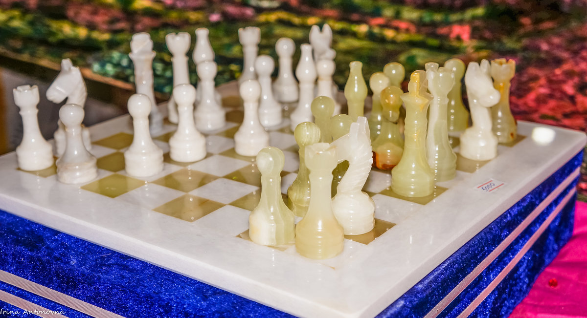 Ониксовые шахматы! - Ирина Антоновна