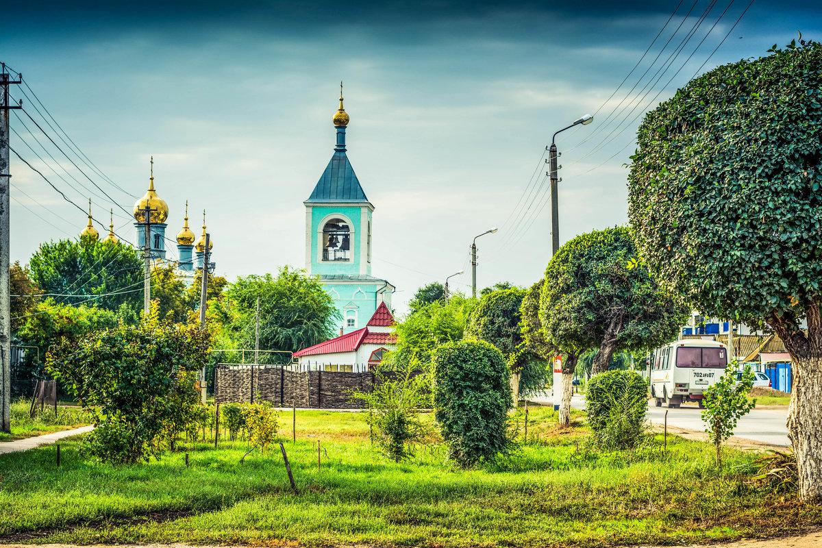 Уральск. Казахстан. Собор Архангела Михаила - Александр Облещенко