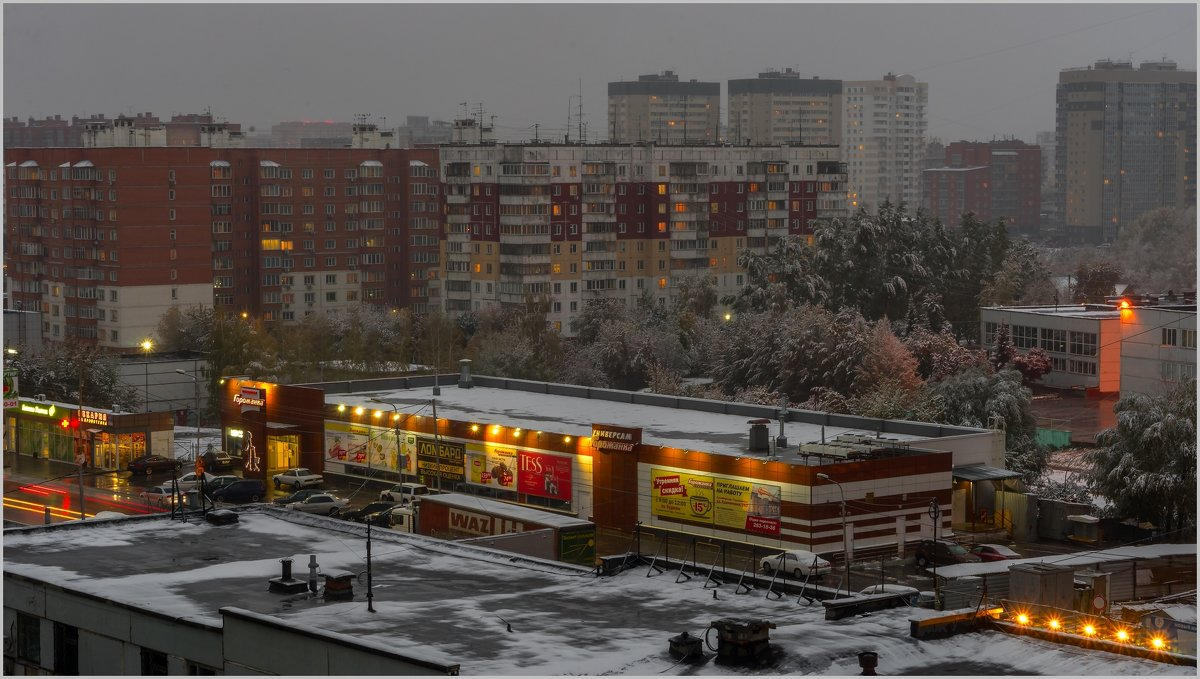 Зима - Владимир