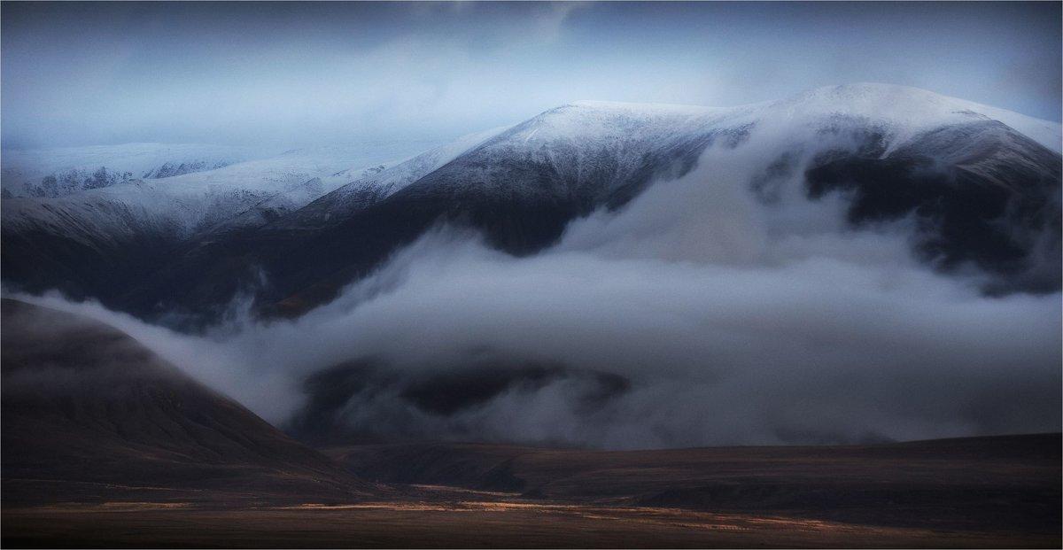 Ватные облака. Алтай - Павел Сухоребриков