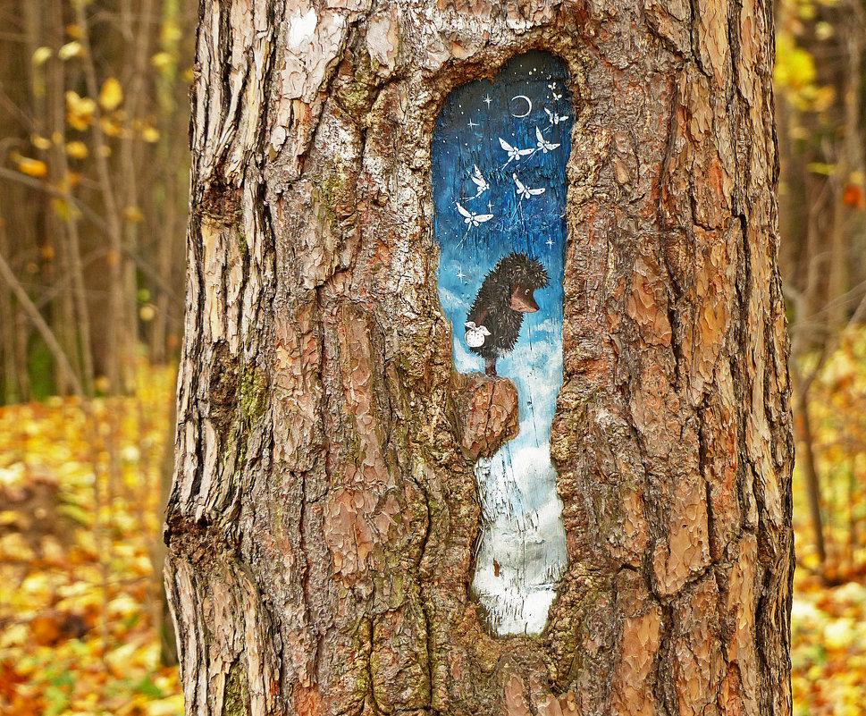 Красота в осеннем лесу - Александр Запылёнов
