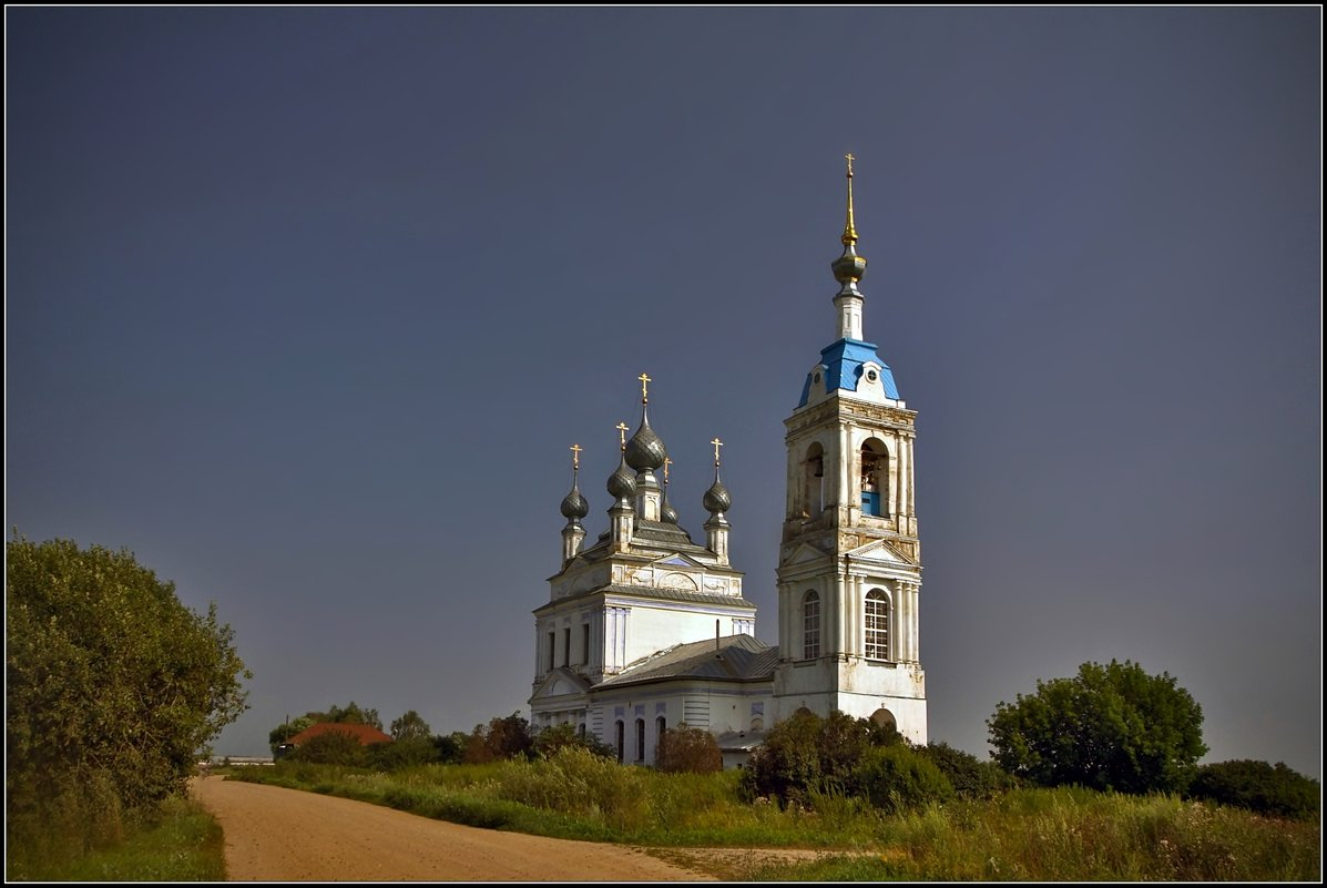 Церковь Рождества Пресвятой Богородицы в Савинском, 1822 - Дмитрий Анцыферов