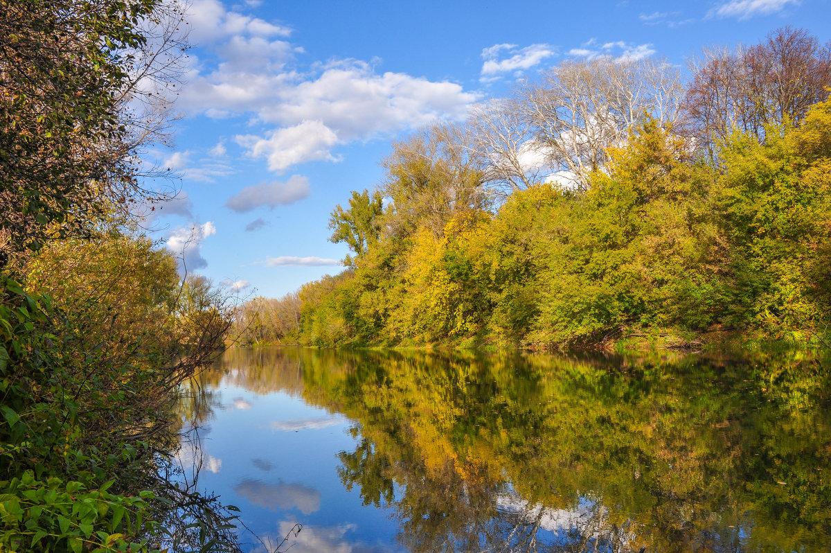 Солнечный сентябрьский день на реке Деме - Сергей Тагиров
