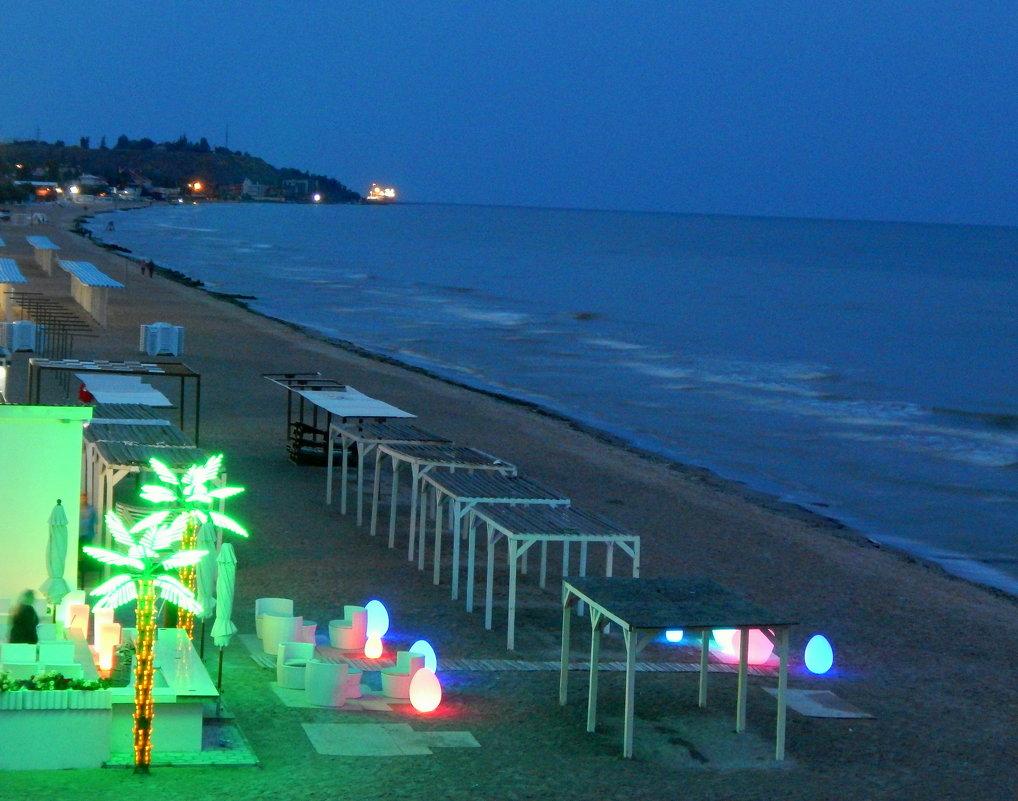 Вечірній пляж - Maria Jankiv