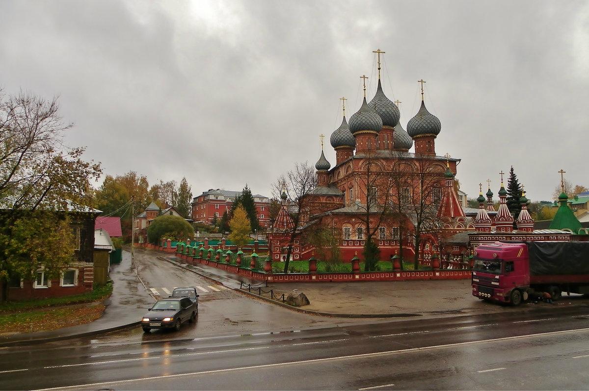 В Костроме переменная облачность - Святец Вячеслав