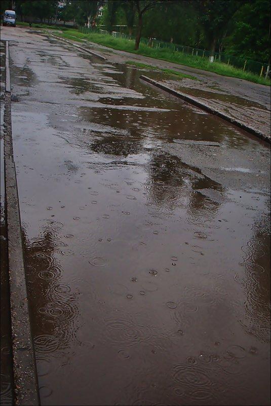 Дождь на асфальте - Нина Корешкова