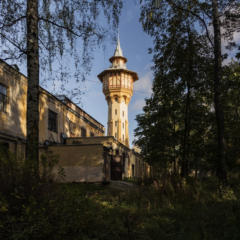 водонапорная башня - ник. петрович земцов
