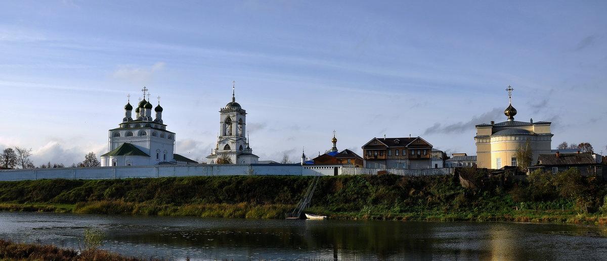 Мстёра. Свято-Богоявленский мужской монастырь. - АЛЕКСАНДР СУВОРОВ
