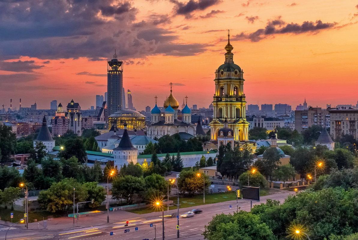 Новоспасский монастырь - Евгений Голубев
