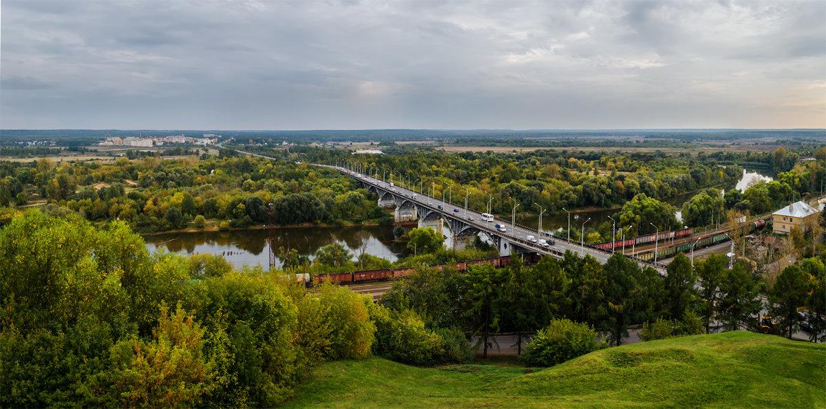 Панорама со смотровой площадки - Альберт Беляев
