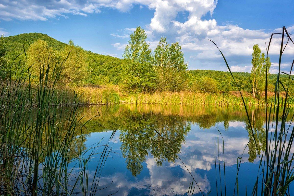 Небесное отражение - Ольга