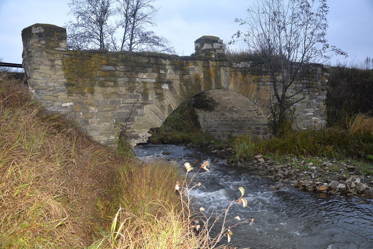Старинный мост через реку... - Дмитрий Петренко
