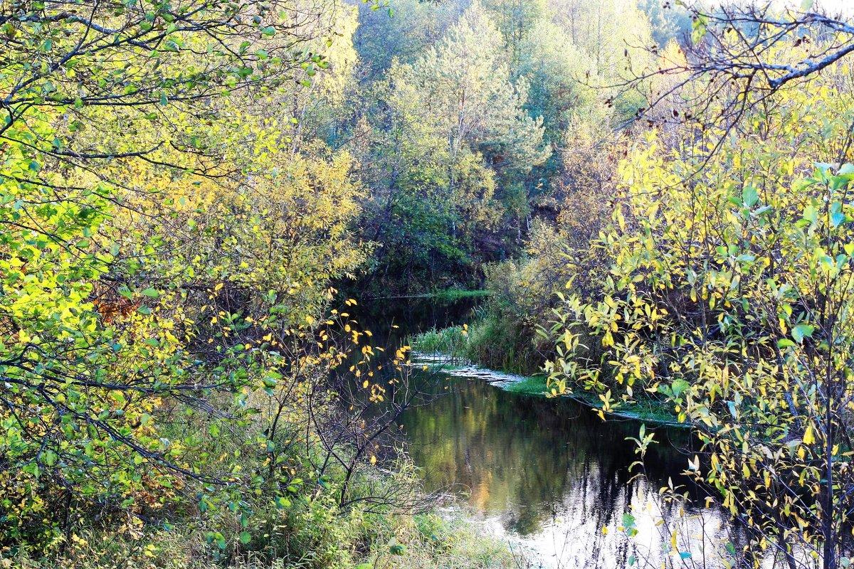 Октябрь на реке - Николай Масляев