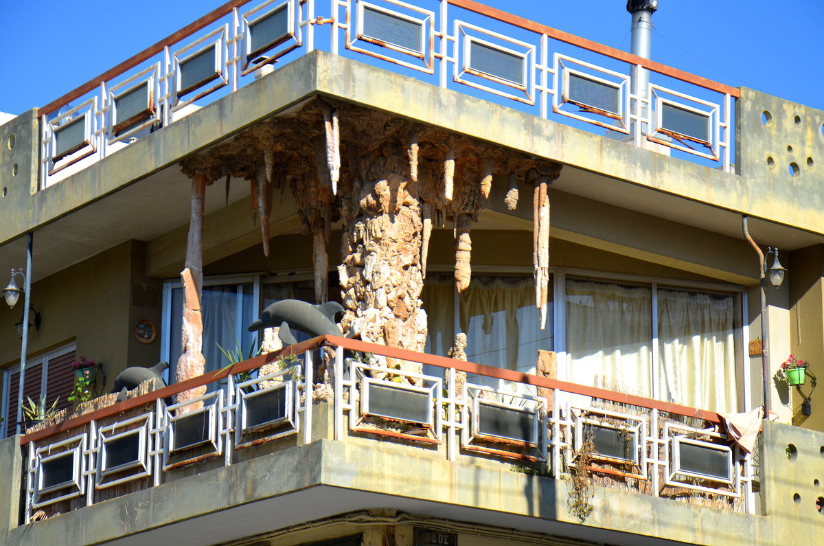 Балкон в морском стиле. - Оля Богданович