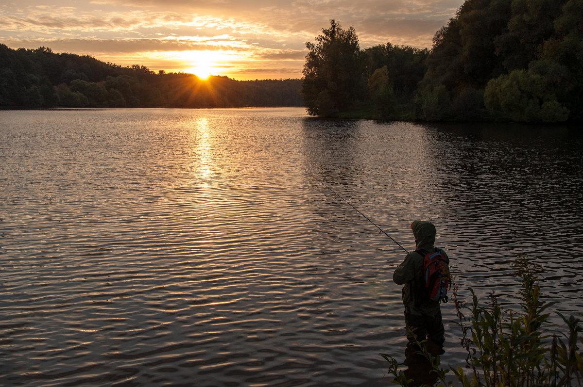 Рыбалка на закате - Alexander Petrukhin