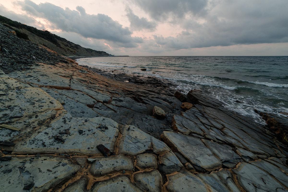 Утренние фактуры и море - Александр Плеханов