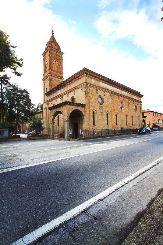 Храм монастыря Santa Maria Pescare - M Marikfoto
