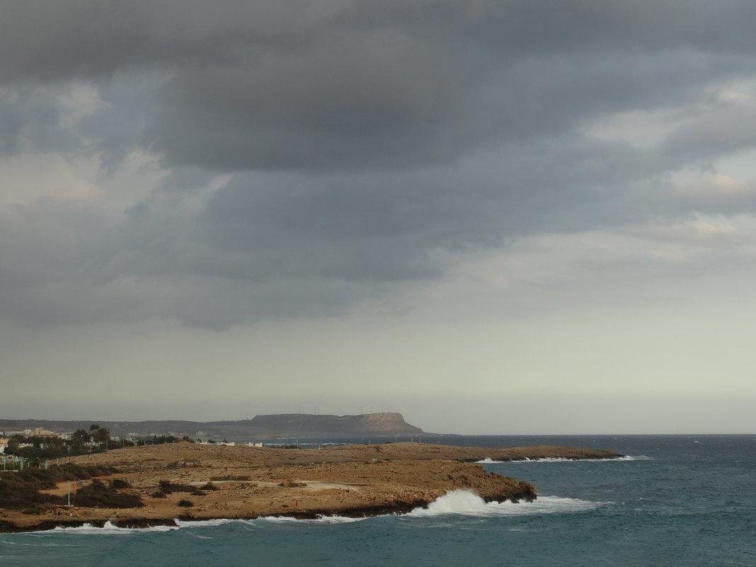 Облака над Айиа-Напой, Кипр - svk
