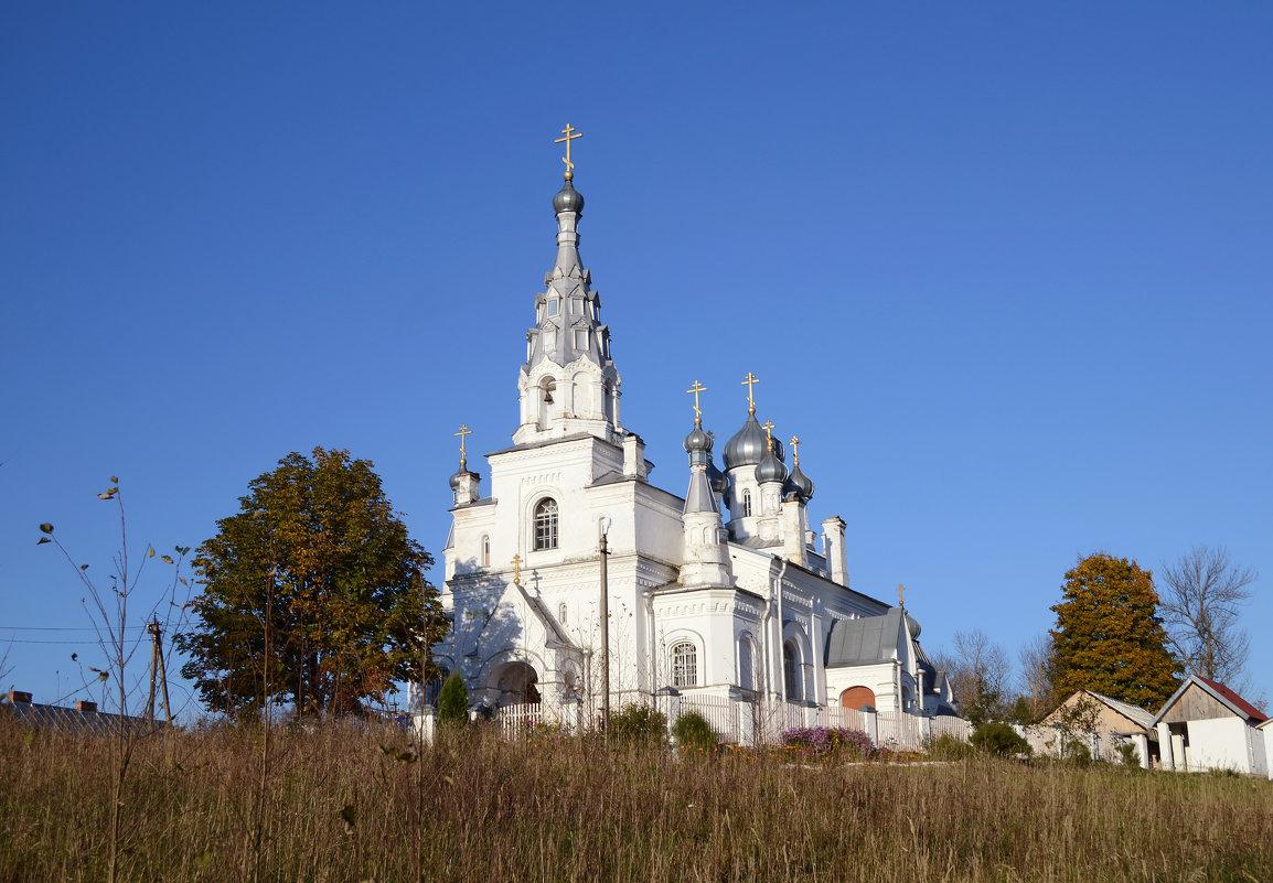 Церковь в деревне Козья гора - Наталья Левина