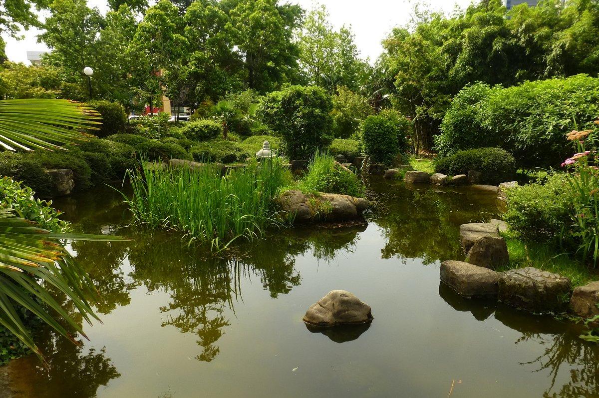 Сад русско-японской дружбы - Наиля