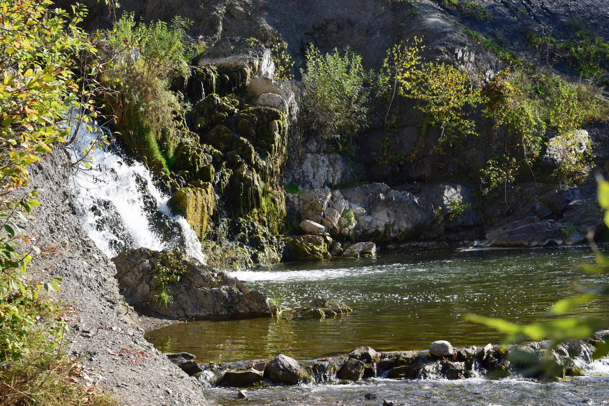 Беловский водопад - Bort037