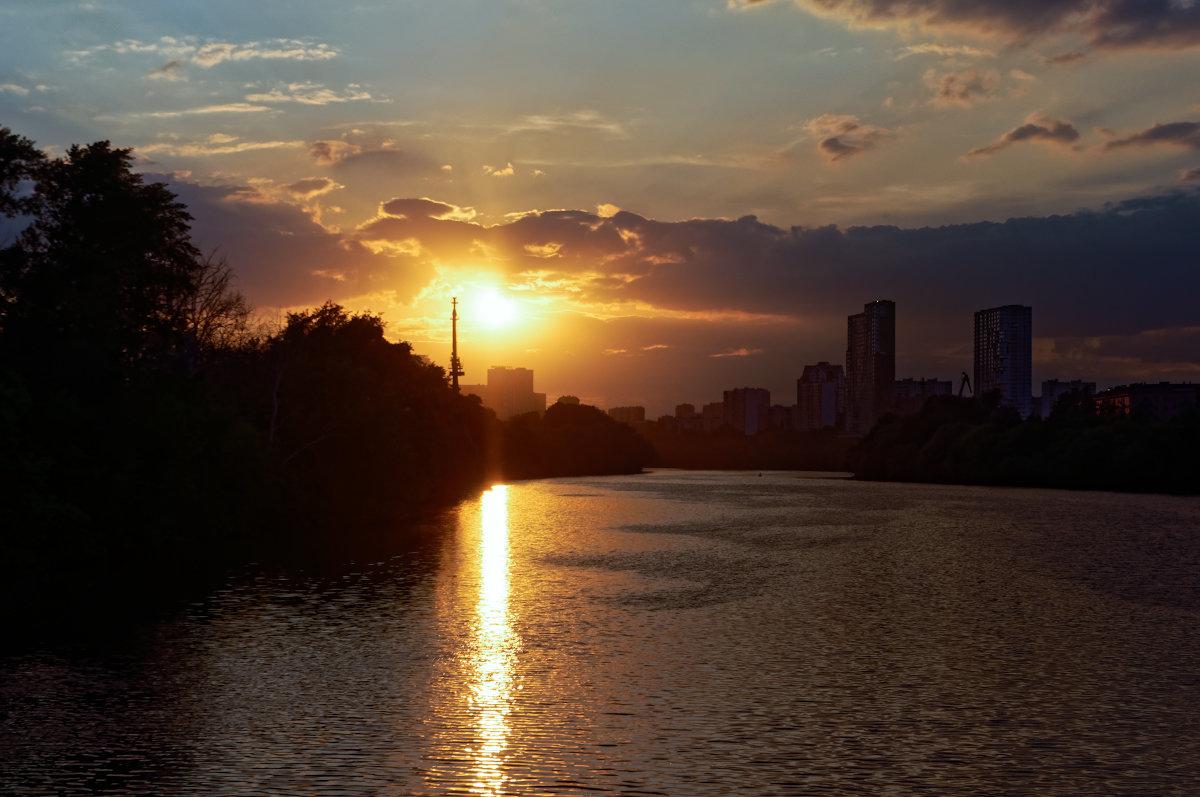 Закат над Москвой-рекой - Константин Косов