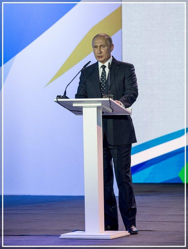 Международный спортивный форум в Коврове - Игорь Волков