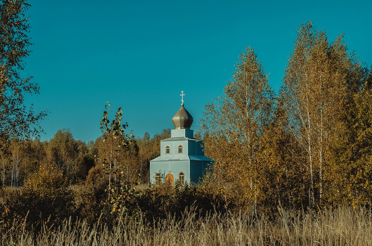 Часовня в полях - Дмитрий Конев