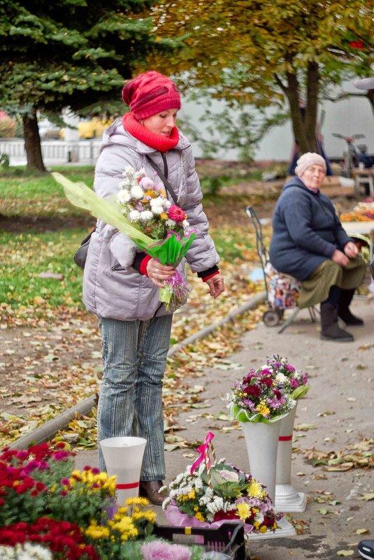 продавщица цветов - юрий иванов