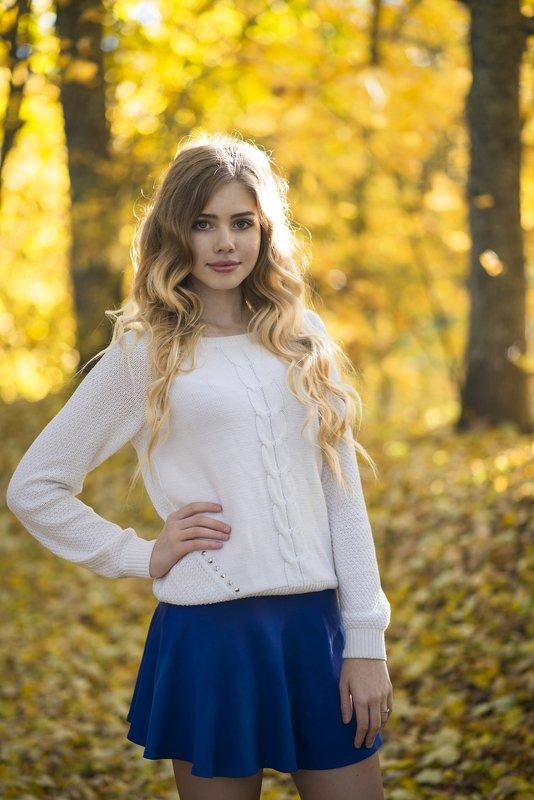 Осенняя Ксюшенька - Женя Рыжов