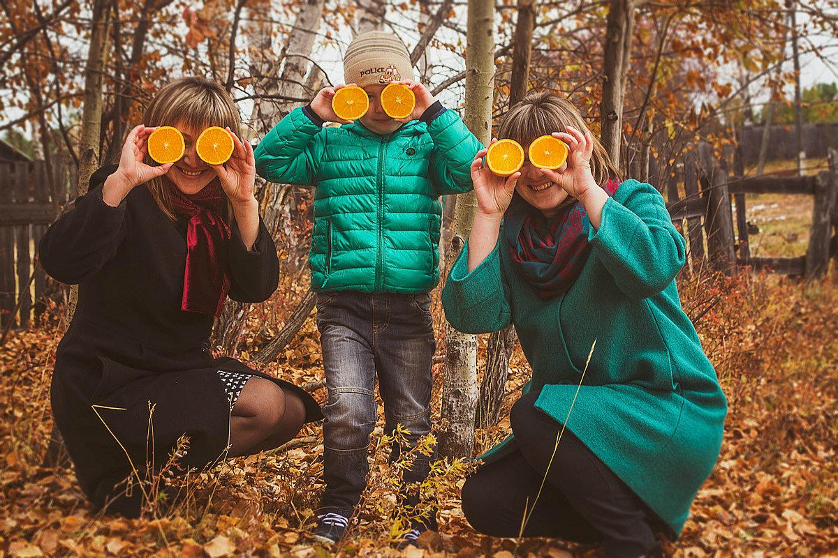 апельсиновая осень.. - Светлана