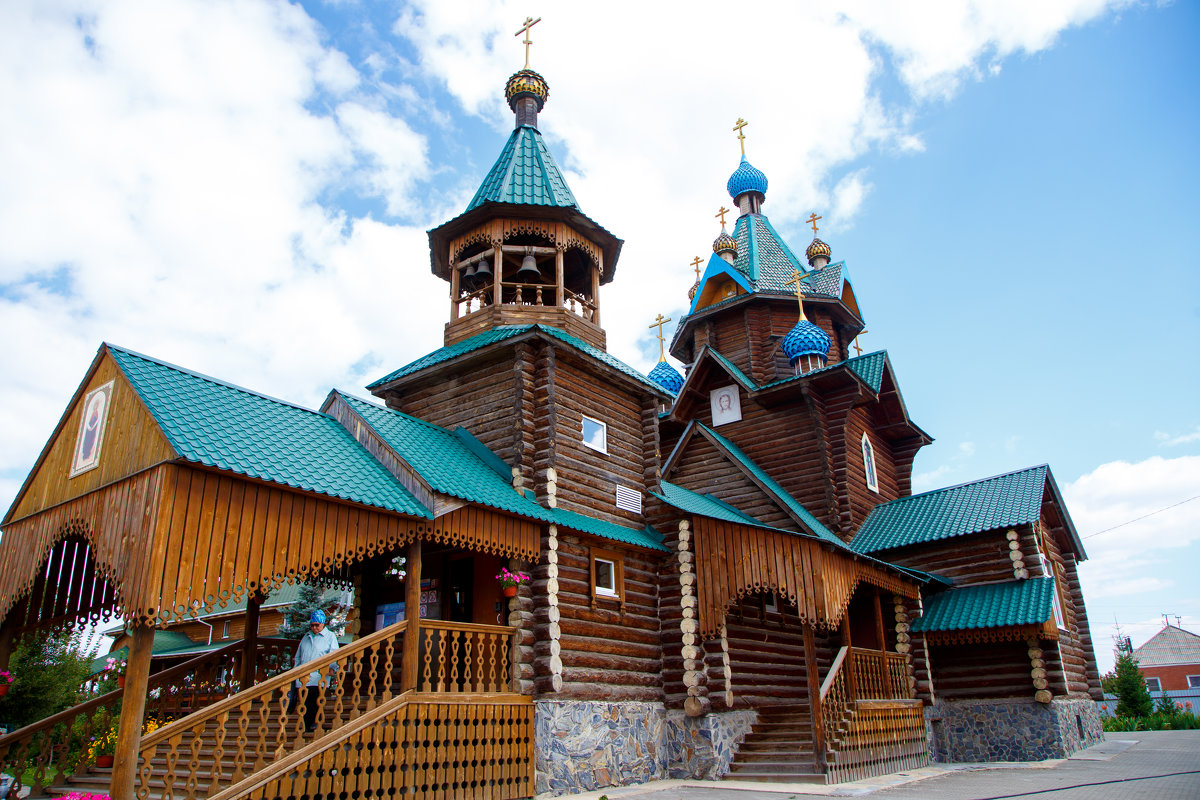 Деревянная церковь - Ксения