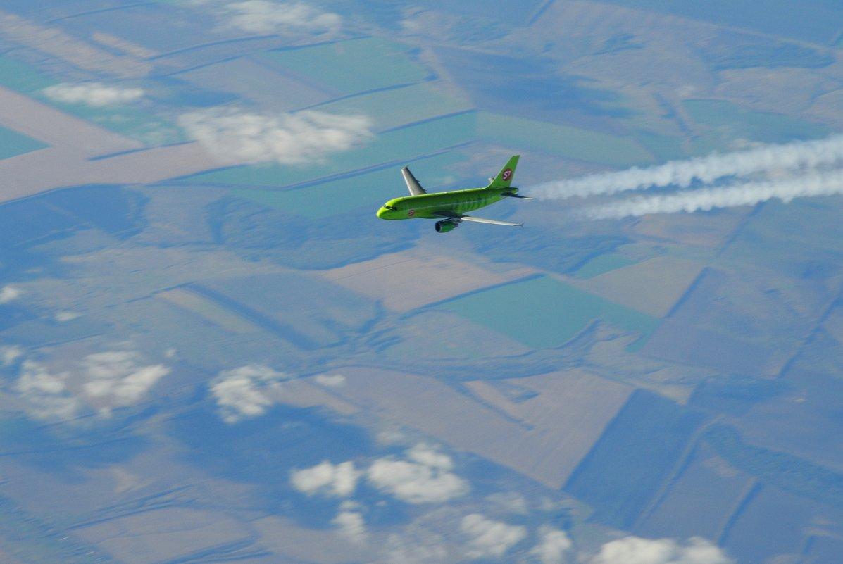 10 тысяч метров над Землёй - vg154
