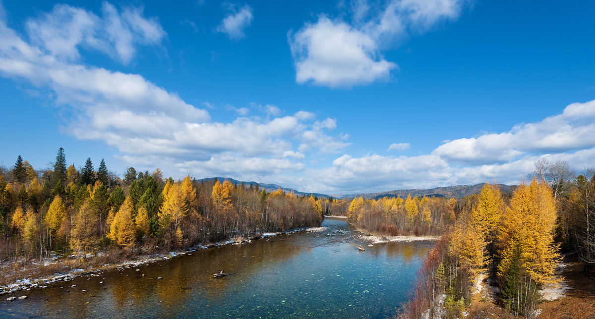 Сибирские реки. Река Быстрая - Анатолий Иргл