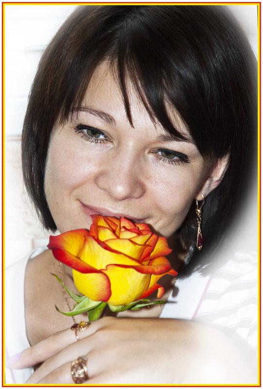 Оранжевая роза... - Дмитрий Петренко