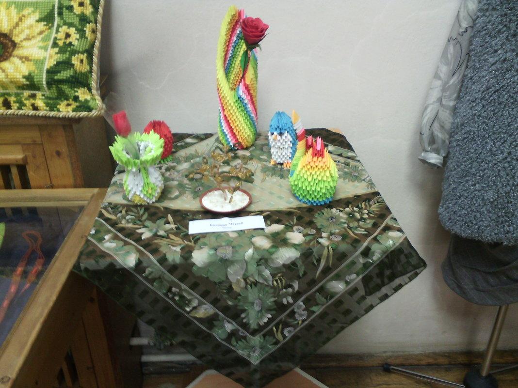 Осенняя выставка в Краеведческом музее. - Ольга Кривых