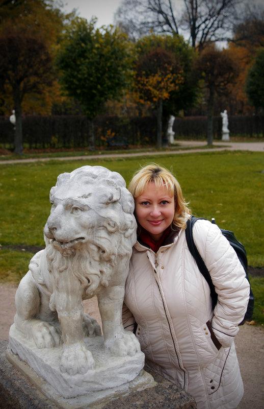 Я и лёва - natalek630
