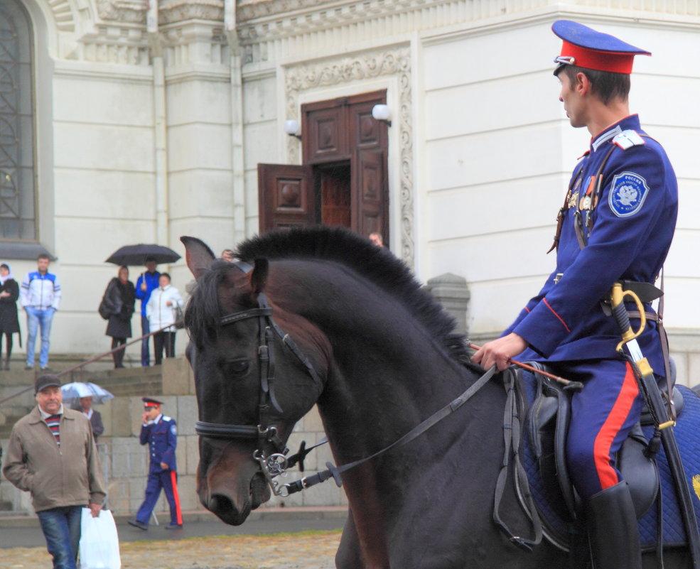 Казак на коне - Юрий Гайворонский