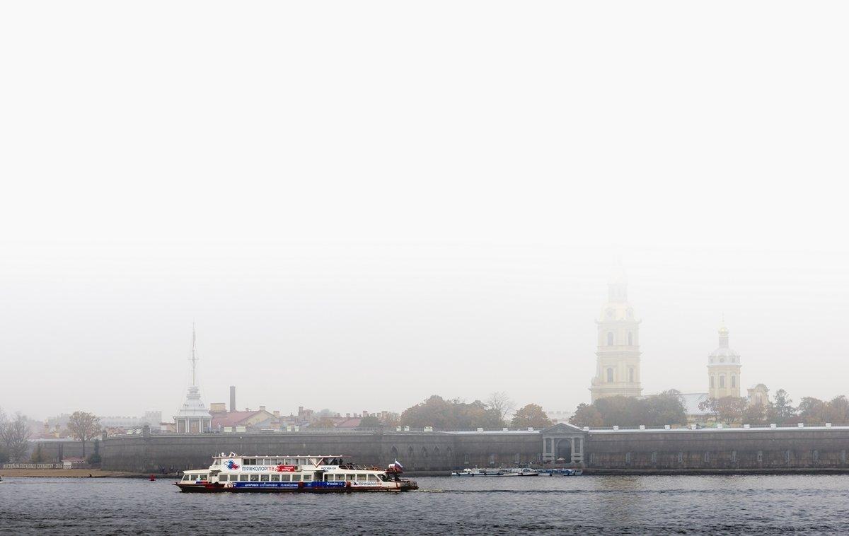 туманное утро - ник. петрович земцов